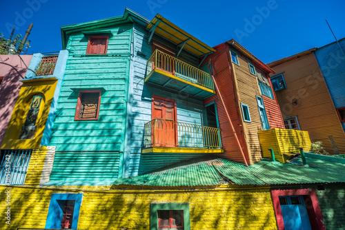 Plexiglas Buenos Aires Caminito street in Buenos Aires, Argentina.