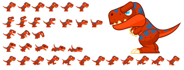 Dinosaur Game Character © pzUH