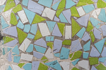 geometric shapes colorful tile