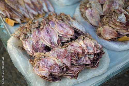 Lao dried salted squid