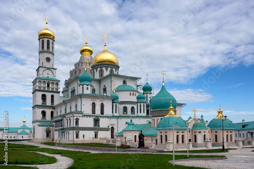 Nowy klasztor jerusalem. Istra, Moscow region, Russia