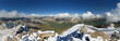 Mount Harvard Summit Panorama