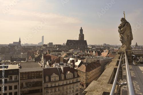 mata magnetyczna Panorama miasta Wrocław