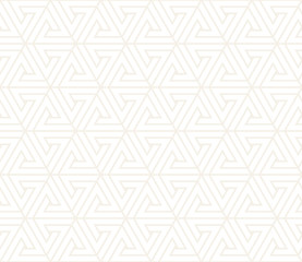 Vector seamless subtle pattern. Modern stylish abstract texture. Repeating geometric tiling from striped elements..