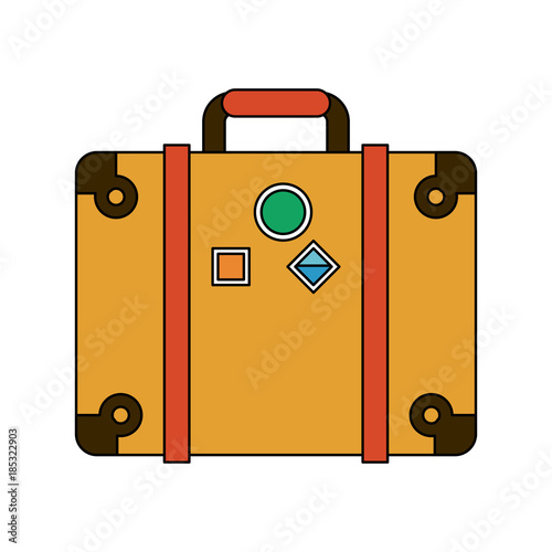 Travel suitcase symbol