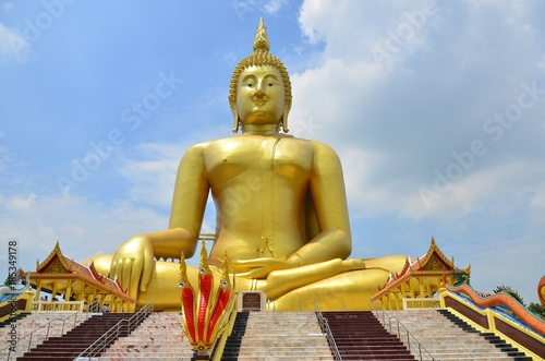 Fotobehang Boeddha buddha background buddhism art religion Asian Thailand statue image buddhist old