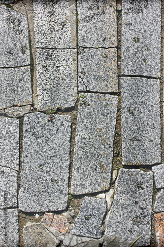 In de dag Stenen Background made of stone. Background of paving slabs