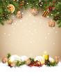 Traditional Christmas template