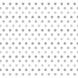 grey polka dots background- vector illustration