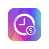 Multi-Color App Button - 185384531