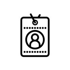 Id card vector icon © Premium Icons