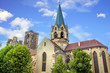 Rouffach. Eglise notre dame de l'Assomption en gré jaune, Grand Est, Haut Rhin
