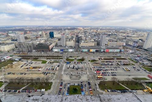 Foto op Plexiglas Parijs ポーランドのワルシャワのクリスマス