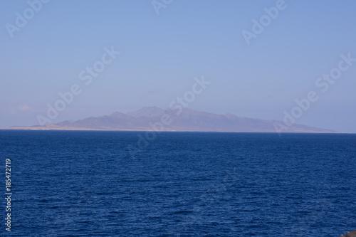 Fotobehang Nachtblauw Picture View Landscape
