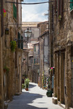 street old town Pitigliano