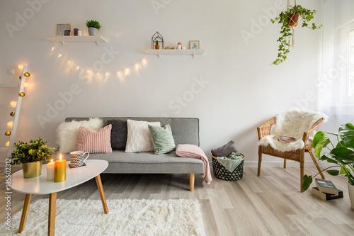 Leinwandbild Motiv Scandynavian living room