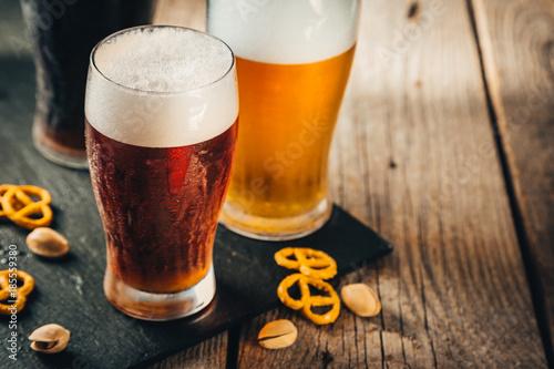 Foto Murales Different types of beer