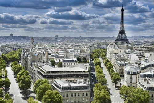 Foto op Plexiglas Parijs tour eiffel