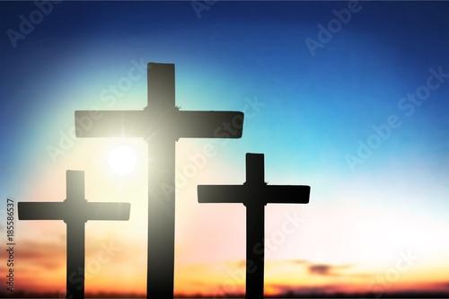 Aluminium Zonsopgang Cross.