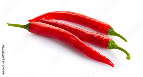 Foto op Canvas Hot chili peppers hot chilli pepper
