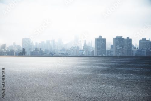 City skyline wallpaper © peshkov