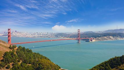 Angel Island & Golden Gate Bridge
