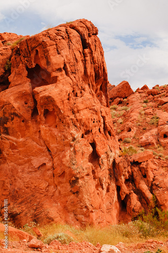 Keuken foto achterwand Baksteen rock formation in the Valley of fire