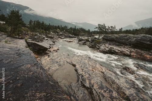 Fotobehang Landschappen Norway is a symbol of intact nature!