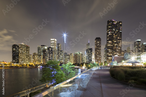 Poster Chicago Navy Pier Chicago