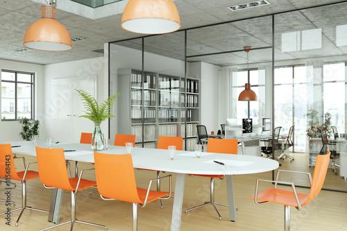 modernes Büro im Loft © virtua73