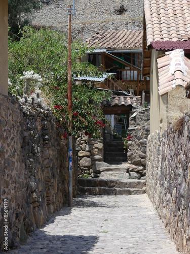 Balade dans Ollantaytambo village