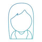 cute virgin mary character vector illustration design - 185698775