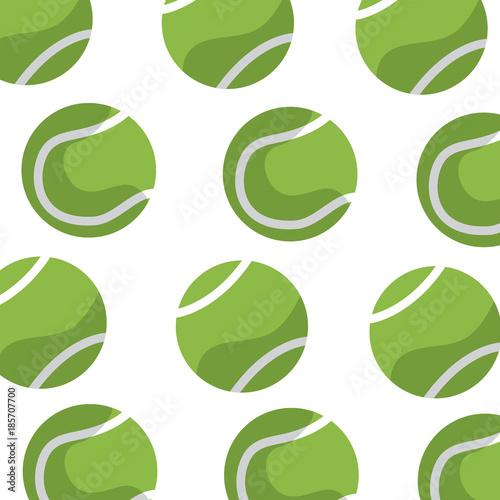 Staande foto Bol tennis ball pattern image vector illustration design