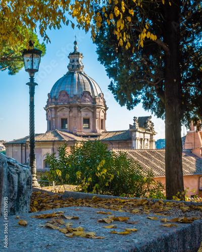 Fotobehang Rome Rome in autumn