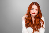 Gorgeous redhead girl - 185732367