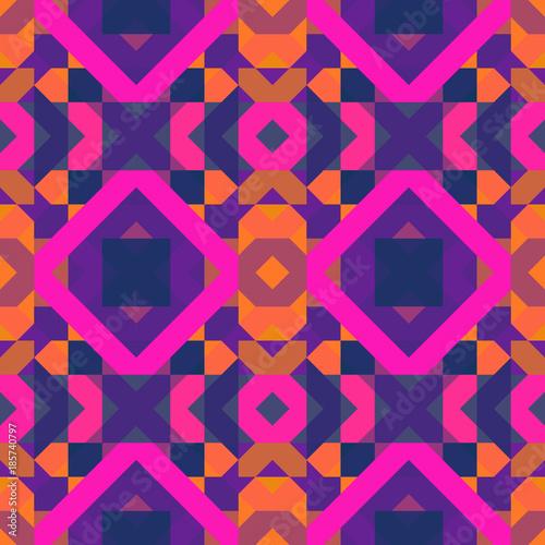 Materiał do szycia Seamless geometric pattern