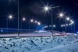 Night city lights - 185746124
