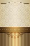 Luxury vintage background. - 185747129