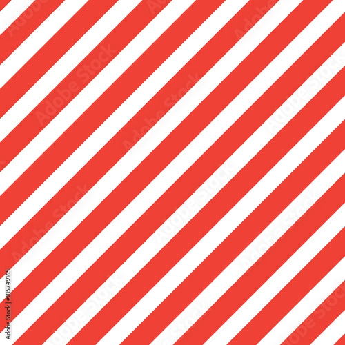 Materiał do szycia Red diagonal lines vector background.