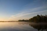 Sunrise at lake - 185795730