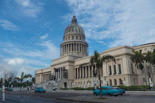 Foto op Canvas Havana キューバ 革命広場