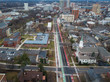 Aerial View of New Brunswick New Jersey