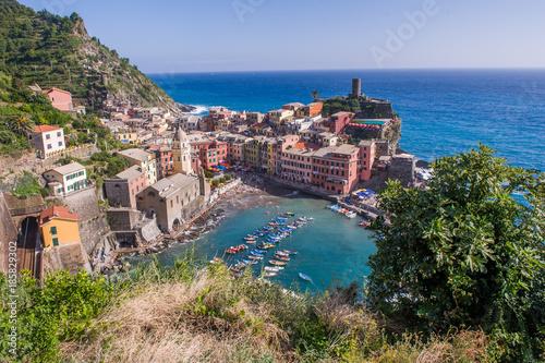 Foto op Plexiglas Liguria Vernazza (Italia)