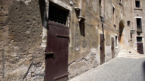 Poster Smal steegje Castel Sant'Angelo Rome Italy