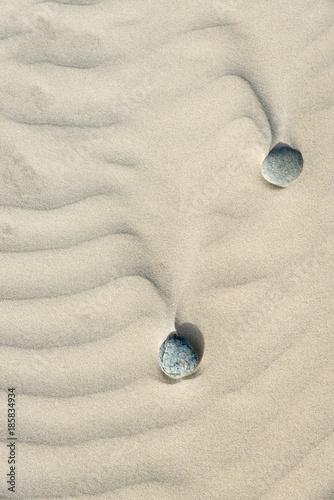 Foto op Canvas Zen galets et sable zen