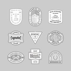 vintage logo, insignia & badges 6