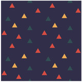 Color triangles seamless pattern. Design for print, fabric, textile. Seamless wallpaper