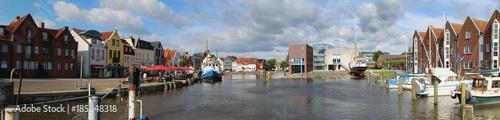 Foto op Canvas Noordzee Husum Schleswig-Holstein Panorama