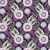 Seamless floral pattern - 185855915