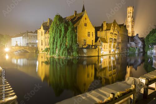 Fotobehang Brugge Belfry - Belfort Brugge